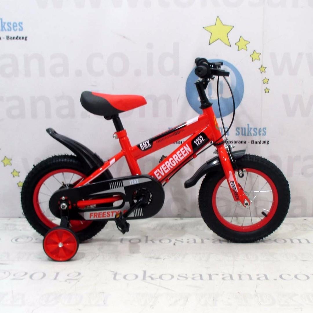 Sepeda Anak Evergreen EG1252 BMX 12 Inci, Sports, Bicycles