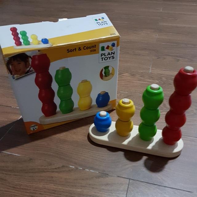 Sort And Count PLAN TOYS