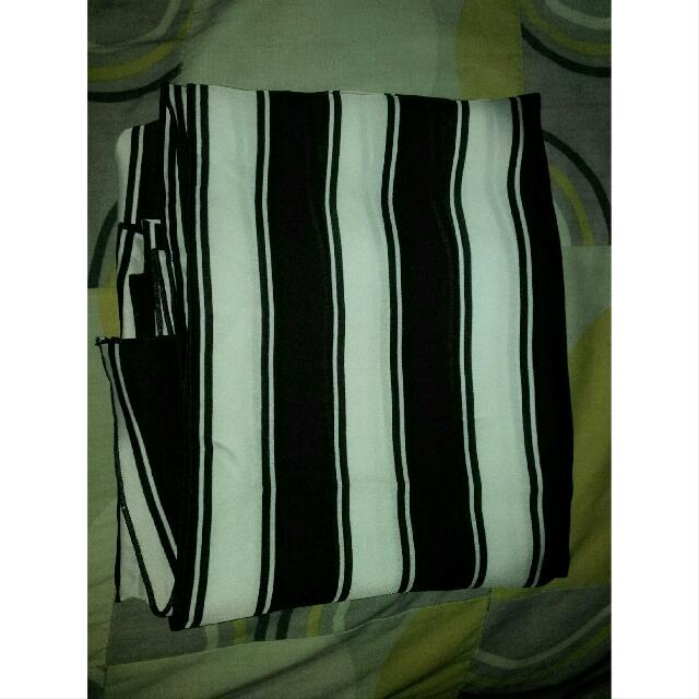 stripe pashmina