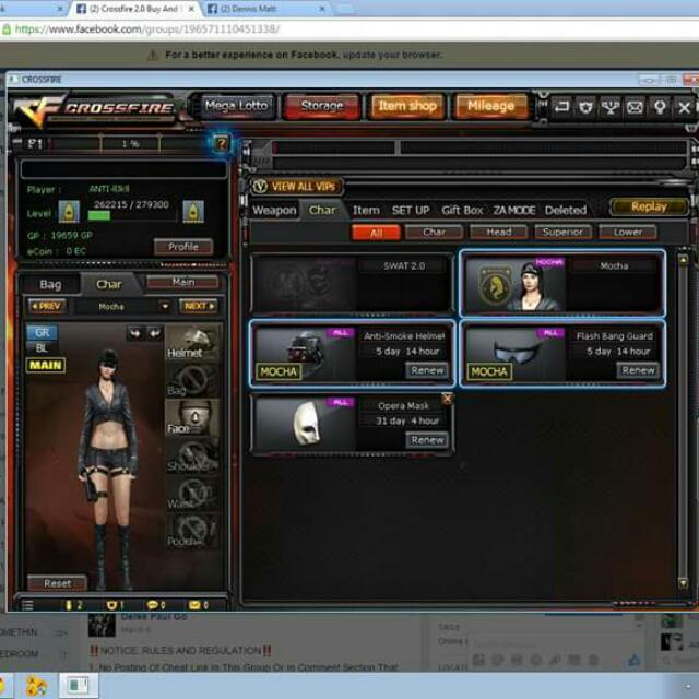 SWAP)CROSSFIRE ACCOUNT 2,VIP, Video Gaming, Video Game