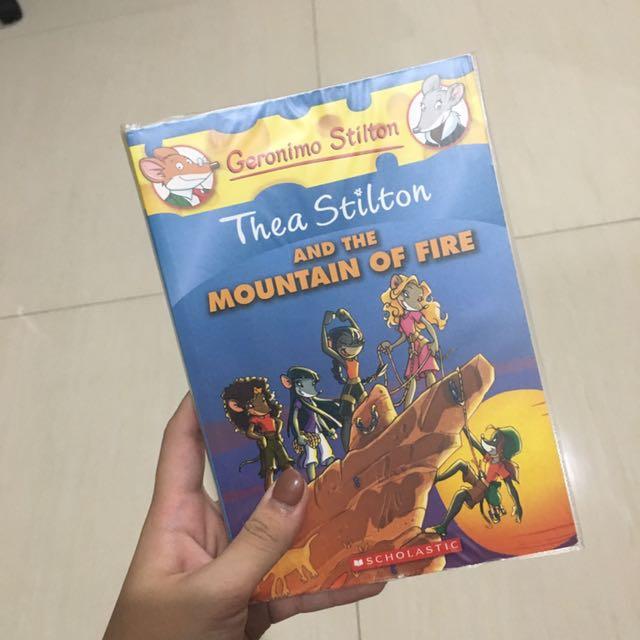 Thea Stilton's Book Series