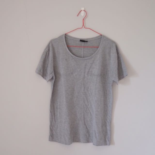 TOPSHOP Grey T-Shirt