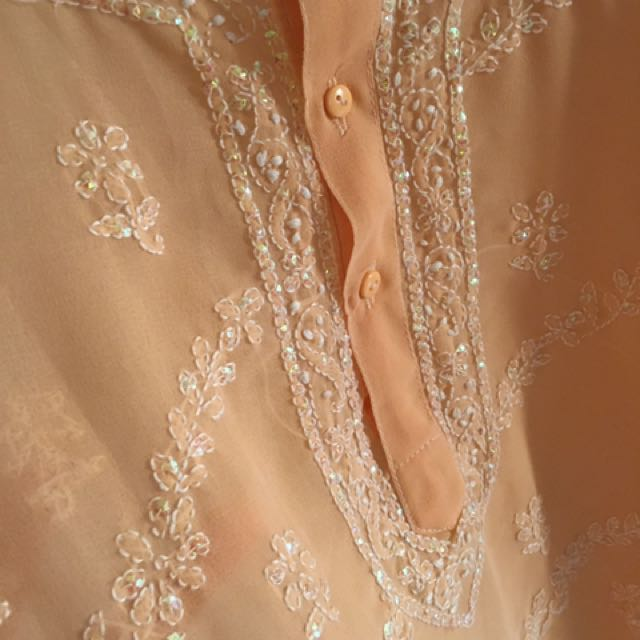 Turkish Blouse With Beadings