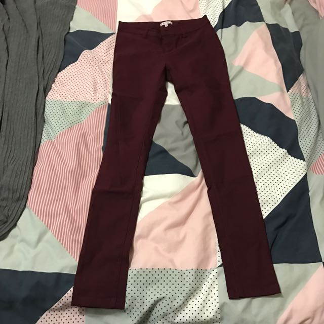Valleygirl Burgundy Jeans