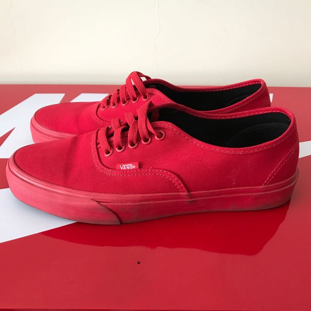 Vans Era Authentic Triple Red US10 442f229cf97a