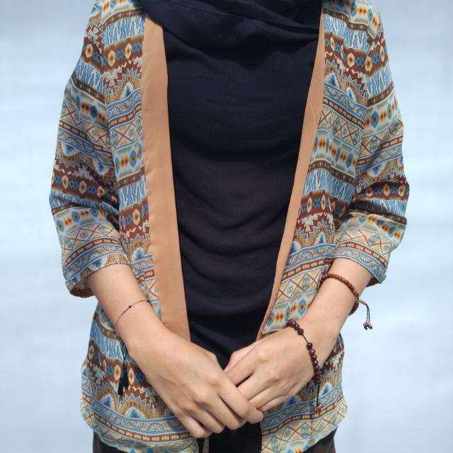Vintage Chiffon Outer