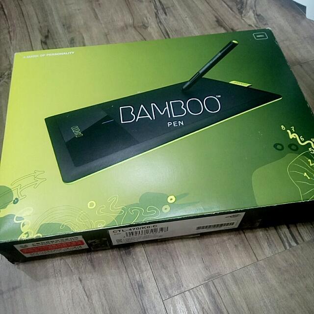 WACOM BAMBOO系列 電繪板 繪圖板