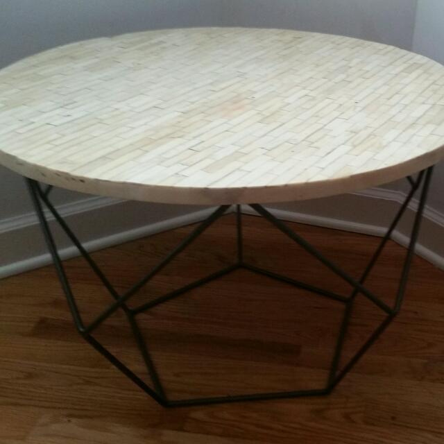 West Elm Origami Coffee Table Medium Furniture On Carousell