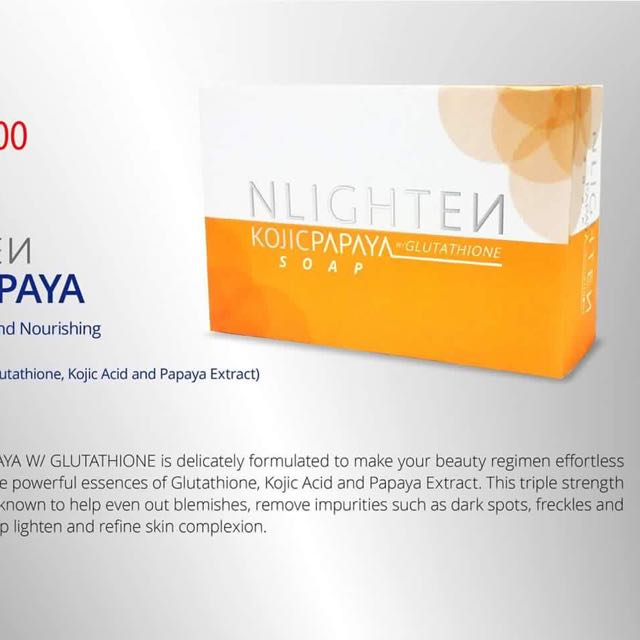 NLIGHTEN Whitening Soap