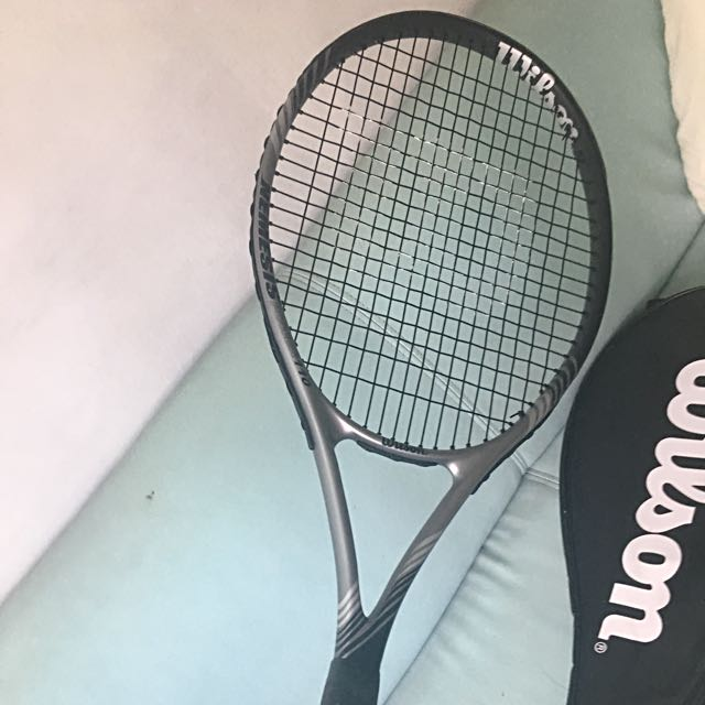 Wilson Tennis Racquet (Oversized Head)
