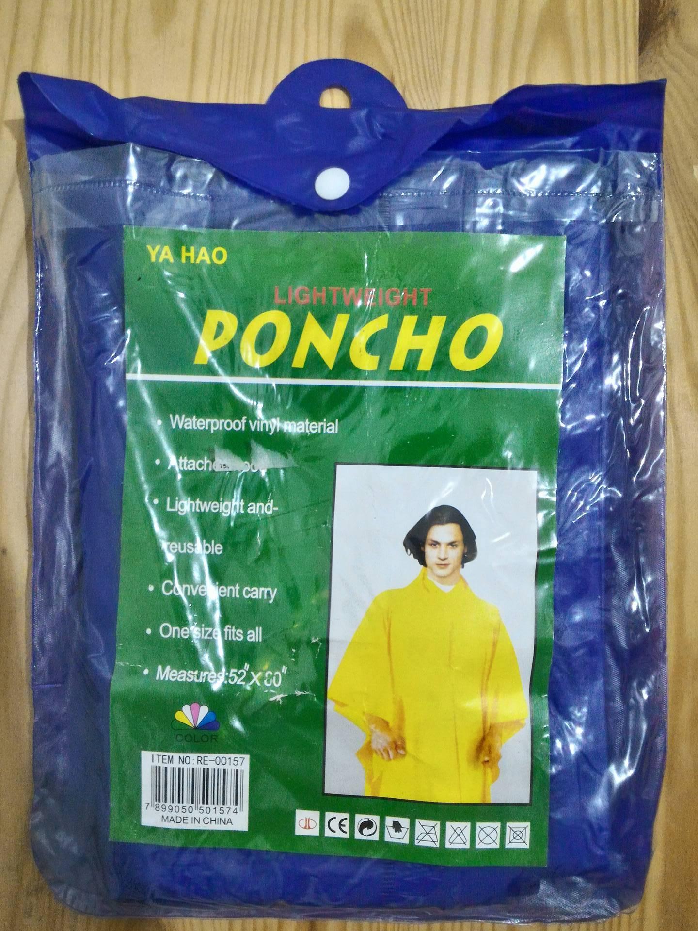 Ya Hao Lightweight Poncho