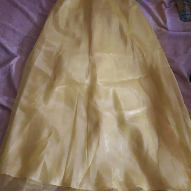 Yellow Gown For Petite (Meet Ups Only)