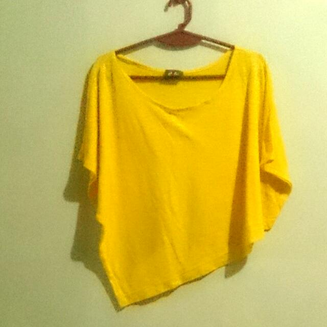 Yellow Hanging Blouse