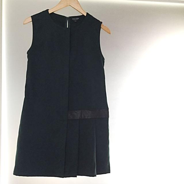 Zalora Leatherette Dress