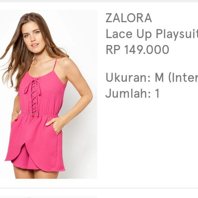 Zalora Lace Suit