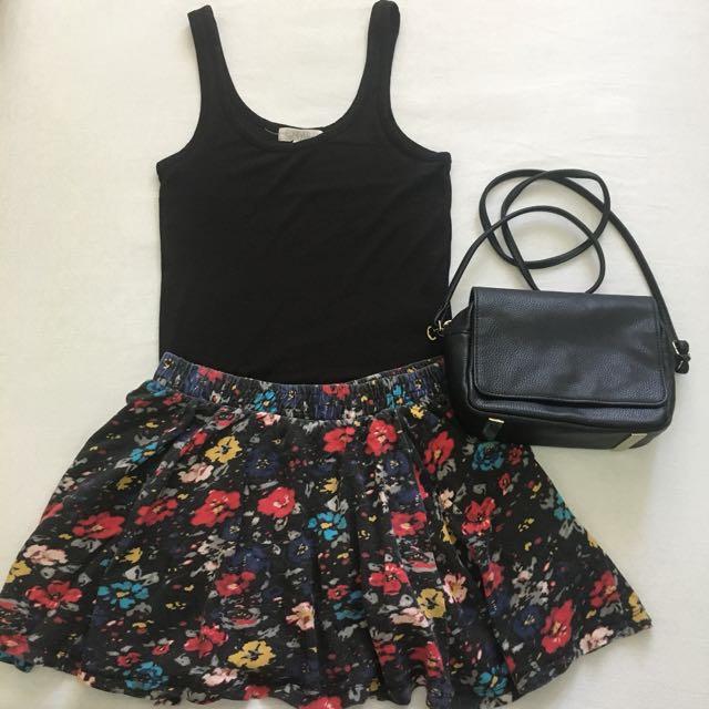 Zara Skater Skirt