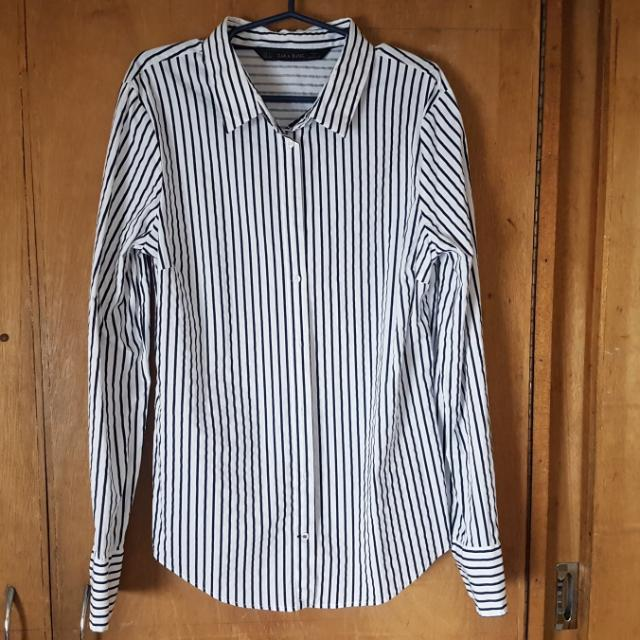 ZARA Stripes Long Sleeves