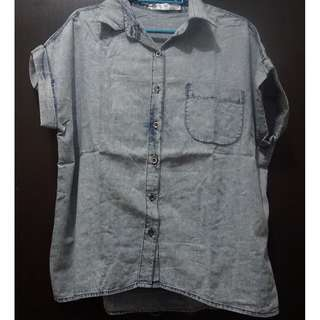 Denim Women Button Up