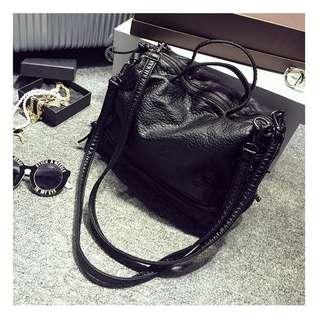 Brand New Soft PU Leather Handbag / Sling Bag / Tote Bag / Shoulder Bag / Minimalist Bag
