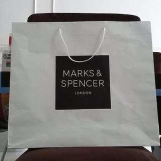 Marks & Spencer paperbag (Large)