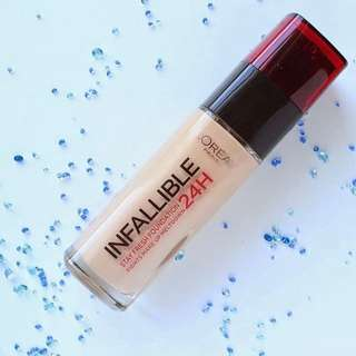 LOREAL INFALLIBLE 24Hrs Stay Fresh Foundation