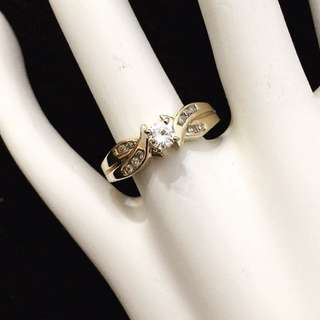 14k Gold Diamond Engagement Ring*Compare At $2,400+