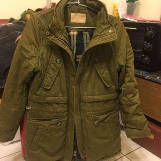 軍綠色鋪棉外套#運費我來出