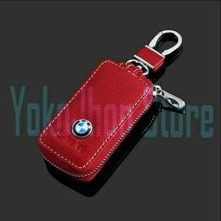 Gantungan Kunci Mobil Kulit BMW