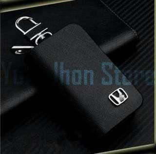 Gantungan Kunci Mobil Kulit HONDA