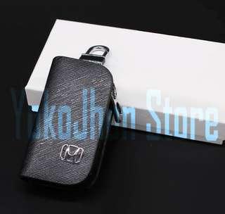 Gantungan Kunci Mobil Kulit HONDA JAZZ/CITY/ACCORD/HRV/CRV/BRIO