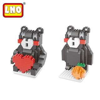 Kumamon Nanoblocks - LNO