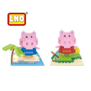 Peppa Pig Nanoblocks - LNO