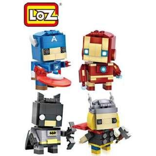 Avengers Mini Blocks - LOZ