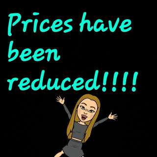 All Item Prices Have Been Reduced!!