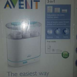 Avent 3 In 1 Electric Sterilizer