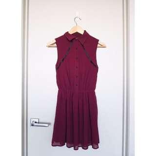 1 & 20 Blackbirds Mini Skater Dress - Size 6