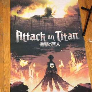 Attack On Titan HMV Poster