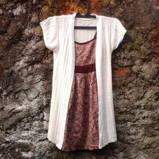 Dress+cardy