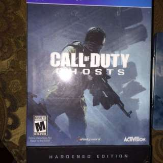 CALL OF DUTY GHOST PS4 HARDENED EDITION