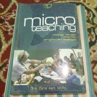 micro teaching book by drs zainal asril