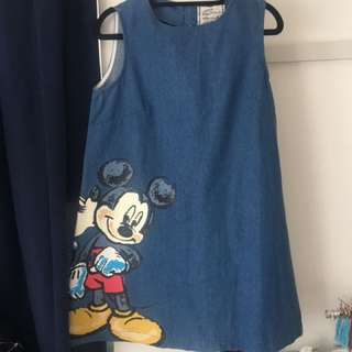 Denim Disney Dress