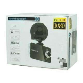 全新Vehicle Blackbox DVR Full HD 1080P 行車紀錄器(黑色)