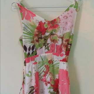 Flower Jumpsuit by Trendy Club