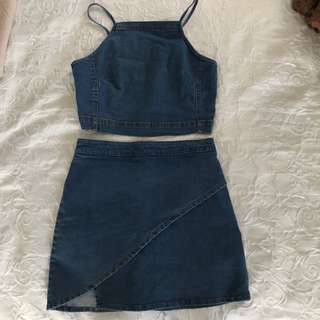 Glassons Denim Two Piece