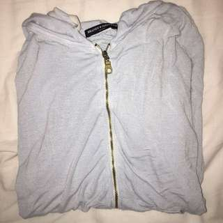 Brandy melville zip up hoodie long sleeve
