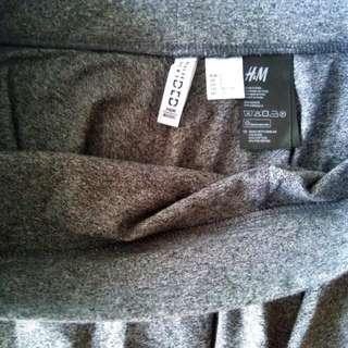 HnM Skirt Gray