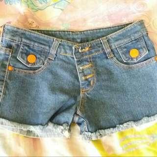 Blue Hot Pants