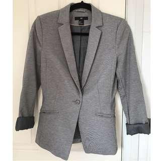 H&M Grey Blazer #SunriseTV