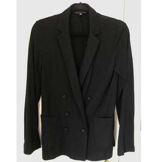 Uniqlo Soft Jersey Double Breasted Blazer #SunriseTV