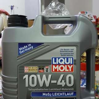 Liqui Moly Engine Oil 10/40 Semi Synthetic